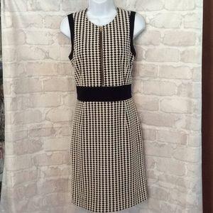 Sara Campbell Front Zipper Sheath Dress